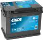 аккумулятор exide EK600